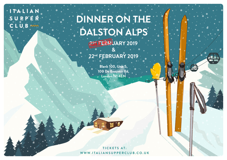 Dinner on Dalston Alps