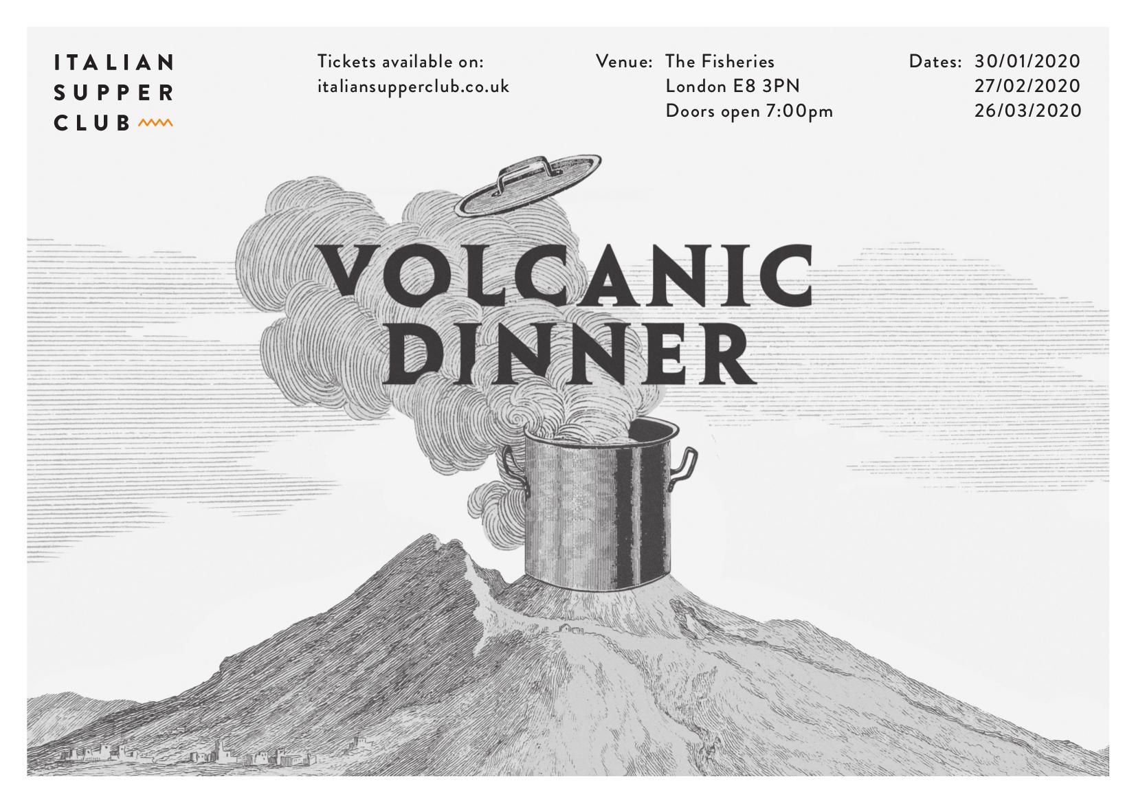 Volcanic Dinner